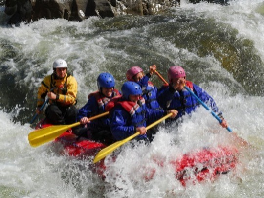 KEEN FOR AN EXTRA DAY OF WHITE WATER EXHILARATION, THIS ONE'S FOR YOU!